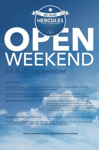 Open Weekend Poster